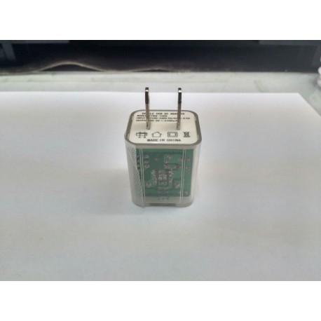 Cubo de cargador 2A Luz