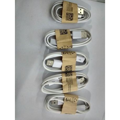 Cables USB v8 Nuevo empaquetado Blanco