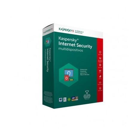 Antivirus KASPERSKY Multidispositivos 2017, 5 + 1 licencias, 1 Año(s)