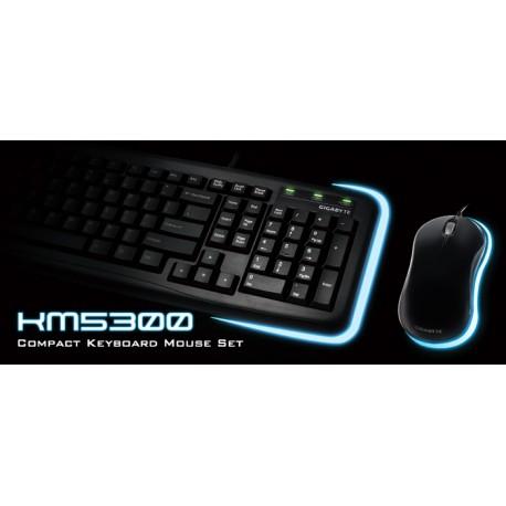 Kit teclado y mouse Gigabyte KM5300