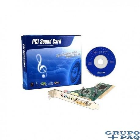 FORTÉ MEDIA FM801-AU 4-CHANNEL PCI SOUND CARD W/GAME/MIDI PORT