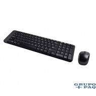 LOGITECH WIRELESS COMBO TECLADO/MOUSE MK220