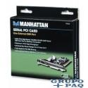 SERIAL PCI CARD MANHATTAN 1 PUERTO DB9