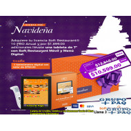 Siguen las ofertas pre Navideñas en Soft Restaurant® tableta de 7 Pulgadas