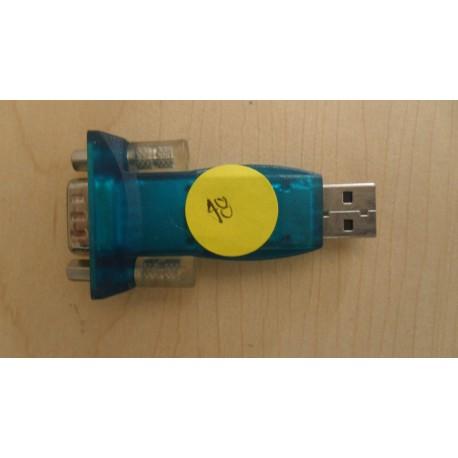 CONVERTIDOR DB9 MACHO A USB