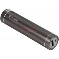 Batería Portátil recargable Acteck Powerbank de 2200 mAh para Smartphones.