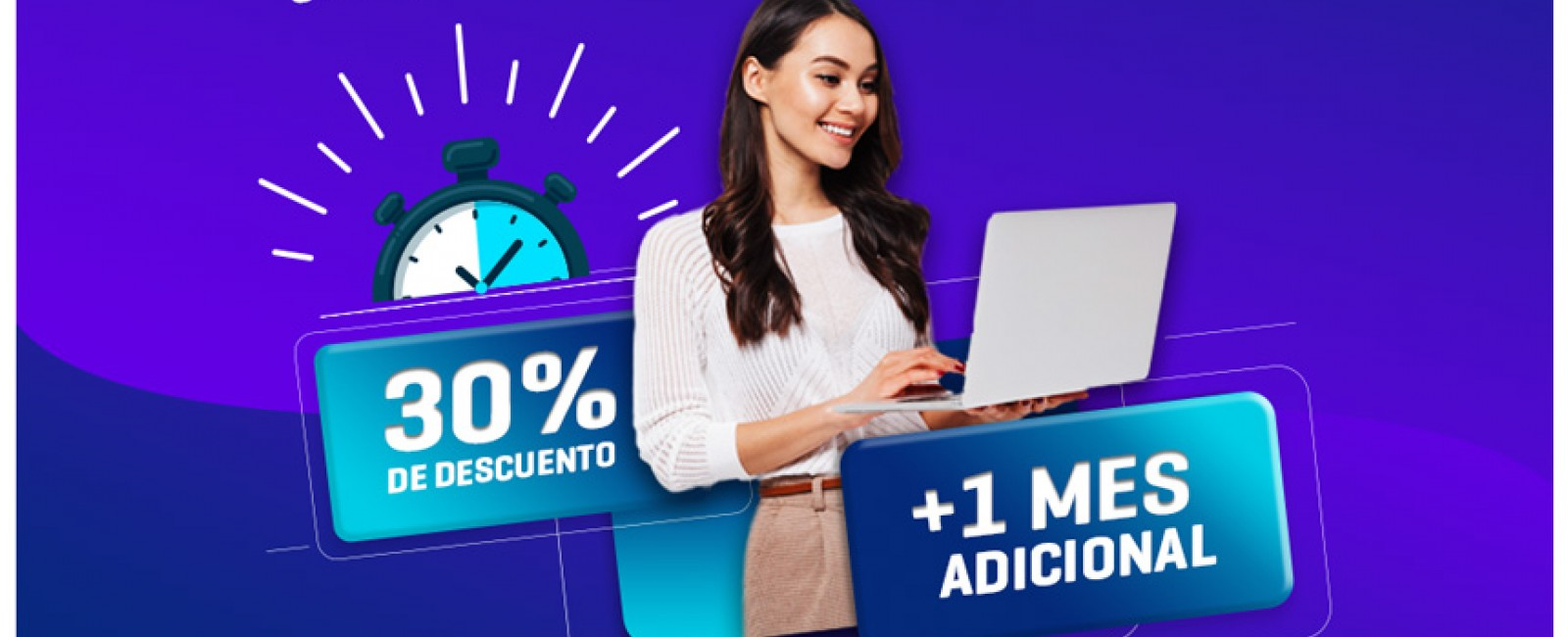 Cámbiate de licencia tradicional a anual y obtén 30% Descuento + 1 Mes Adicional!!